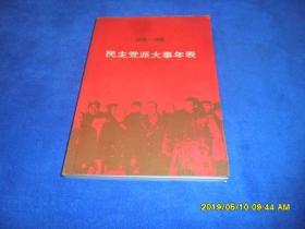 民主党派大事年表(1949-1998)