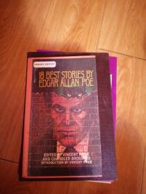 18 Best Stories by Edgar Allan Poe 英文原版 馆藏书