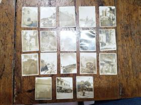 1950年山东旅游风景照片13张合售