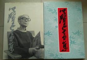 沈耀初画集 (二) 有钤沈耀初美术馆赠印章 8开精装护封带盒套