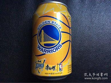 NBAnba冠军西部冠军 金州勇士队纪念罐 康师傅冰红茶 golden state warriors 非可口可乐百事可乐罐