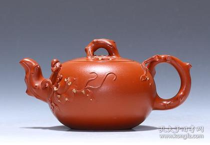 【正品保证】宜兴紫砂壶名家国工艺美术师全手工功夫茶壶松鼠葡萄壶