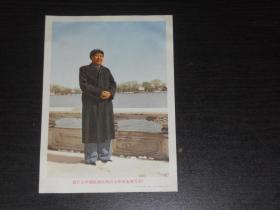 毛主席画片  (32开,尺寸:17.5*12.5公分)