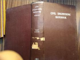 英文原版:CIVIL  ENGINEERING  HANDBOOK-----URQUHART                  (16开精装本)《117》