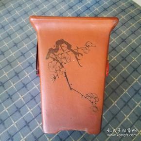 Shiquan portrayed, Yu Xiaojun made purple sand flowerpot