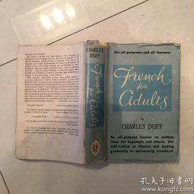 french for adults成年人法语