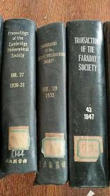 london edinburgh anddublin philosophical maagazine and journal of science  伦敦爱丁堡和都柏林哲学杂志和科学杂志 精装合订本 1935年 品好 英文原版
