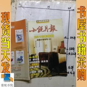 小说月报(2010年增刊)中篇小说专号4
