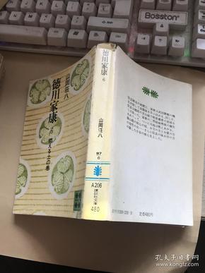 日文原版:50开本《德川家康》第6册 【无涂画笔迹,书衣边沿小裂口】