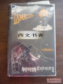 稀缺本,Waddell, L. Austine著《西藏佛教或喇嘛教》大量图片,1958年出版精装