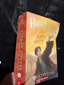 Harry potter and the deathly hallows.  ..