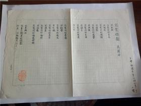 B0512诗之缘旧藏,台湾中生代诗人张国治1990年精品代表作手迹1页