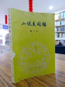 小说见闻录—戴不凡/著 1980年一版一印