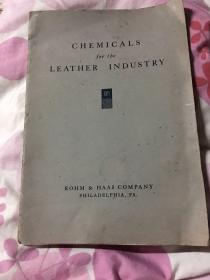 CHEMICALS for the LEATHER INDUSTRY16开平装具体看图片