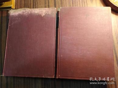 日文原版:构造强弱学(上下册,昭和5年,1930年,见图)                      (大16开精装本)《117》