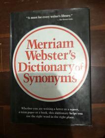 英文原版 Merriam-Websters Dictionary of Synonyms