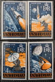 安堤瓜1968年  太空计划基地,火箭卫星 4全新 实拍