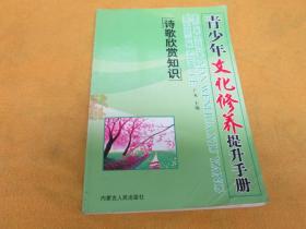 青少年文化修养提升手册:诗歌欣赏知识——后页有字迹划线