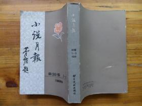 小说月报 第20卷 1-3