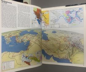 简明泰晤士世界历史地图集配件精装书脊烫银济柴柴油机布面图片
