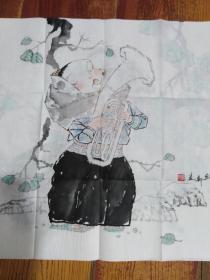 巫维轩 人物画精品附出版物