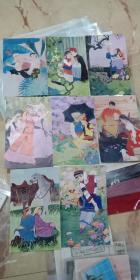 描绘少数民族青年男女自由恋爱的绘画插图8张