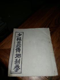 少林真传地刹拳 (手抄本)38面