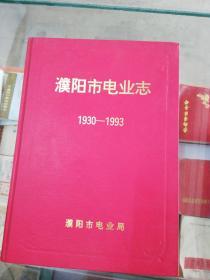 【地方志】濮阳市电业志 (1930---1993)