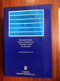 库存无瑕疵 未使用过 带护封 DICTIONARY A COMPREHENSIVE GRAMMAR OF THE ENGLISH LANGUAGE(英语语法大全 全英文版