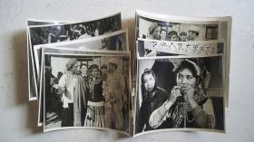上世纪五六十年代拍摄-电影《五朵金花》(片段镜头)5-6寸黑白照片8张