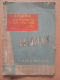 服装量裁基本知识(文革书,印毛主席语录)