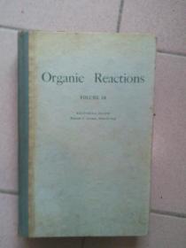 Organic ReactionS  VOLUME 18