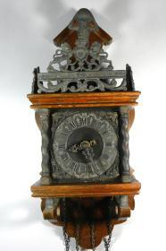 ㊣■老古董--德国Hermle赫姆勒机械挂钟■