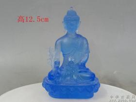清代老琉璃佛像22