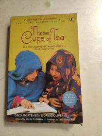 Three Cups of Tea (Young Readers Edition)三杯茶(青少年版) 英文原版
