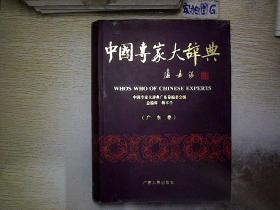 中国专家大辞典 广东卷1  ,..