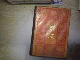 辞源 修订本(1-4)第一册