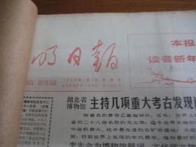 (生日报)光明日报1984年1月(1---31日)