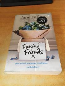Faking Friends Jane Fallon(假朋友简·法伦)原版英文