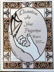 竖琴谱:Classics at your fingertips,book4