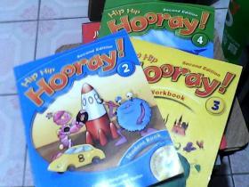 Hip Hip Hoordu!1.3.4 册(1.3册 各.附光盘  )    三册合售                                                                                                                                      Hip Hip Hooray! 3