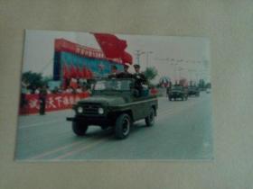 照片文献    新疆军区阅兵