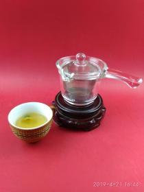 休闲静养 享受独处的幽雅时光  沏茶煮茶的玻璃侧把壶