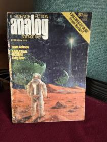 Analog Science Fiction ,Science Fact ( Februrary 1976   )