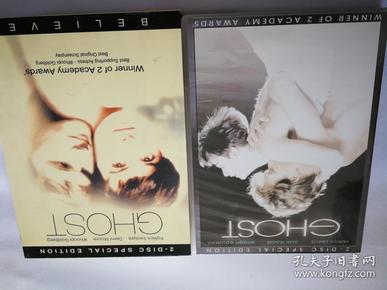 《人鬼情未了》。完整收藏版双碟DVD。