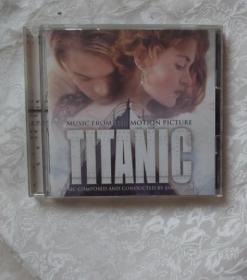 泰坦尼克号 歌曲VCD -英文版