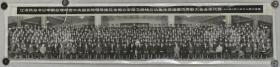 1995年《国家领导人接见全国公安保卫战线立功集体英雄模范表彰大会全体代表》大幅转机老照片一帧(尺寸:20.5*91.5cm)HXTX113064