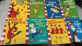 Dr Seuss Yellow Back Book  [平装] 苏斯博士  8册合售