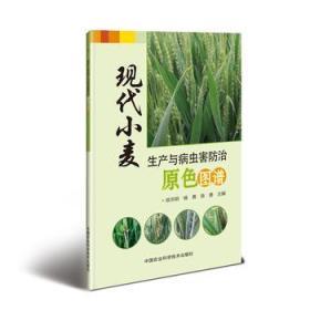 现代小麦生产与病虫害防治原色图谱