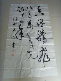 毛元法:书法:香港腾飞